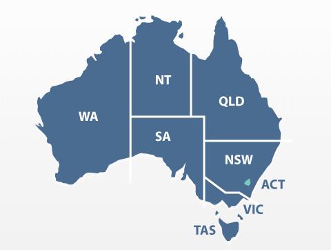 australia states