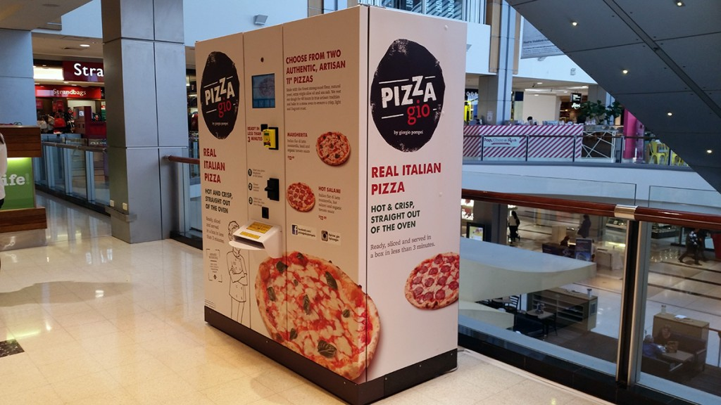 pizza macine