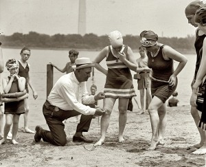 Old Style Swimmers