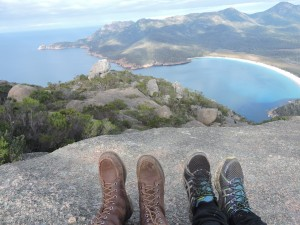 Wineglass Bay vista de cima