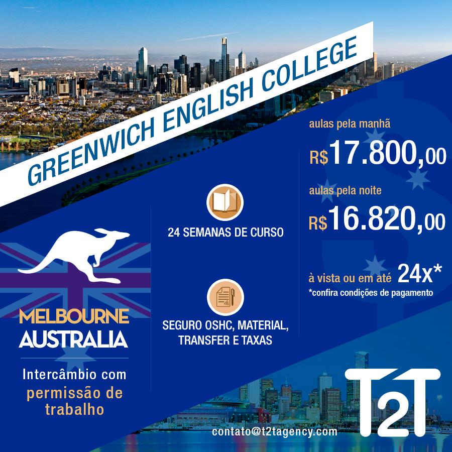 Visto Estudante Melbourne