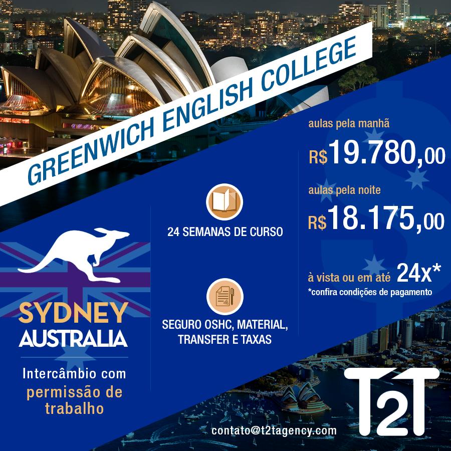 Visto Estudante Sydney