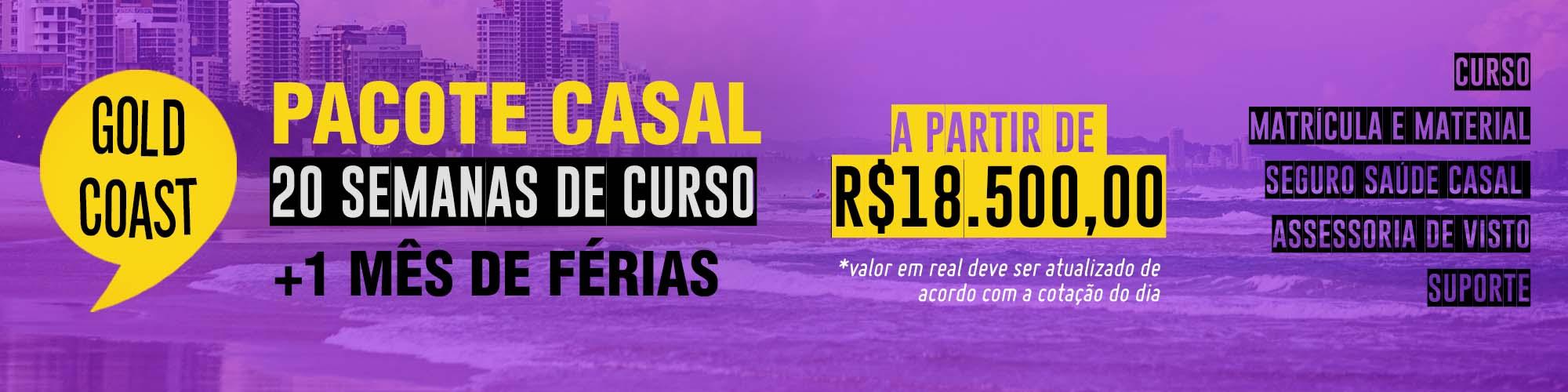 Promo Casal Gold Coast