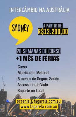 Promo Sydney Março 2021 Sidebar